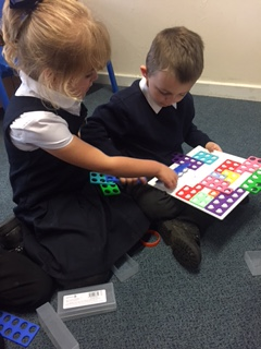 Primary 1 using Numicon
